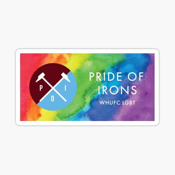 Pride Of Irons - Rainbow Sticker