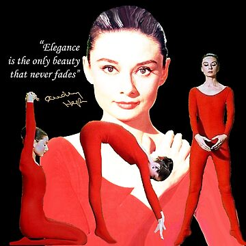 Audrey in Red by Dulcina