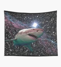 space shark Wall Tapestry