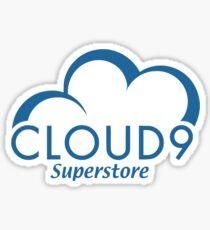 Cloud Nine Sticker
