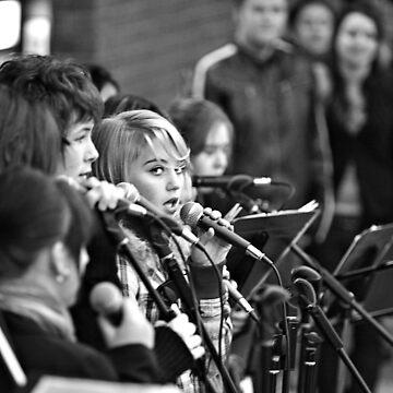 STREET SINGER by afildes