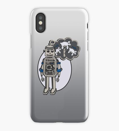 Robots and Sheep iPhone Case/Skin