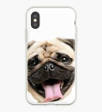 Just A Pug iPhone Case