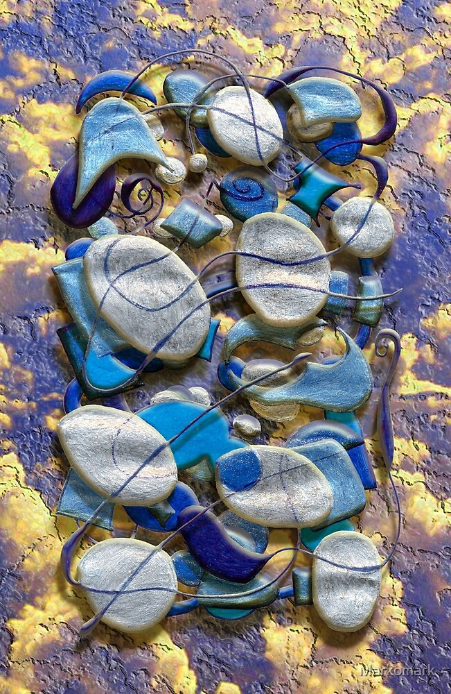An Arrangement of Stones by Markomark