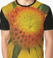 Orange and Yellow Graphic T-Shirt