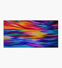ETHEREAL SKY - Large Abstract Sky Oil Painting  Photographic Print