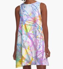 The Mist that Birthed the Rainbow A-Line Dress