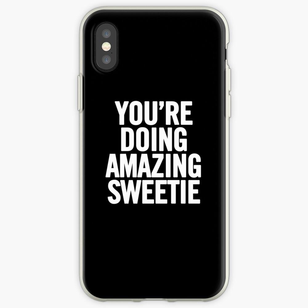 Estás haciendo un amorcito increíble Funda y vinilo para iPhone