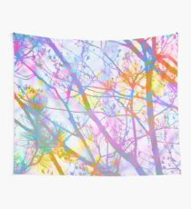 The Mist that Birthed the Rainbow Wall Tapestry
