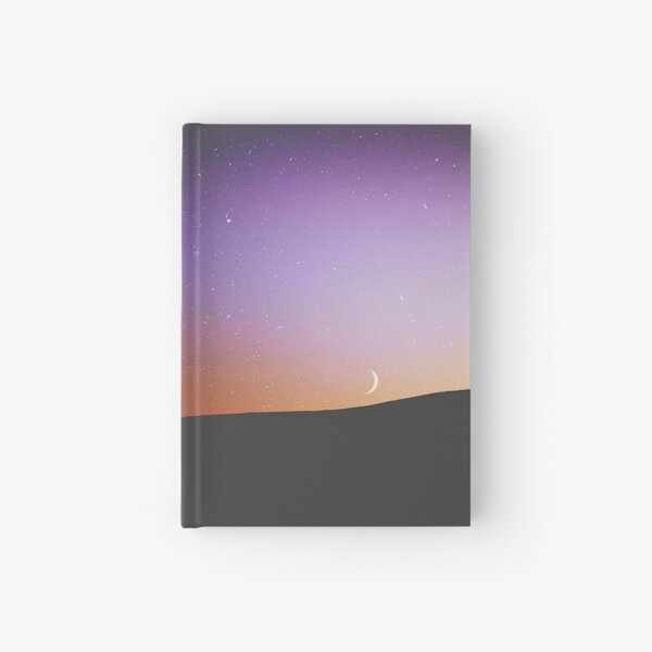 Stars and Moon Hardcover Journal