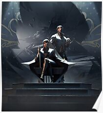 Emily and Corvo Poster
