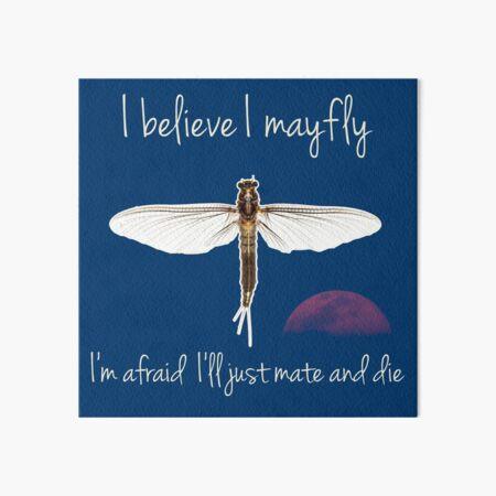 I believe I mayfly! Art Board Print