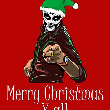 Funny Merry Christmas Y All T Shirt, Xmas Gift Tee by Stella1