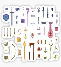 RPG Adventure Kit Sticker Mega Pack Sticker