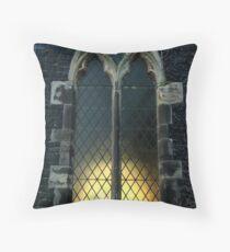 Church window Throw Pillow