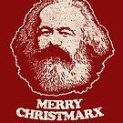Nicht Weihnachtsmann - Karl Marx Hemd Kommunistische Marxist-T-Shirts von vomaria