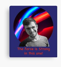 Strong Force Canvas Print