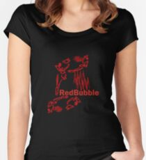 Red Bubbler T II Women's Fitted Scoop T-Shirt