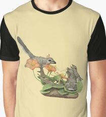 Northern Mocking Bird Graphic T-Shirt