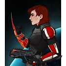 Commander Jane Shepard by radiuhoh