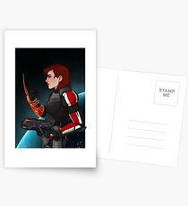 Commander Jane Shepard Postcards