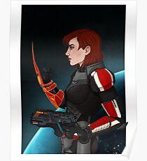 Commander Jane Shepard Poster