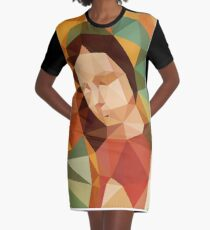 Guadalupe LoPoly Graphic T-Shirt Dress