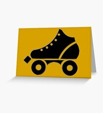 roller-skate Greeting Card