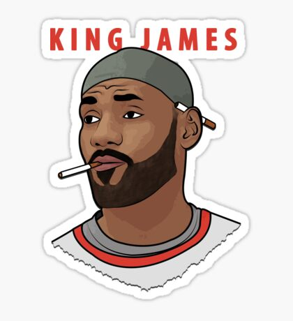 King James Sticker
