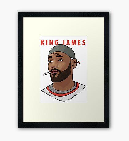 King James Framed Print