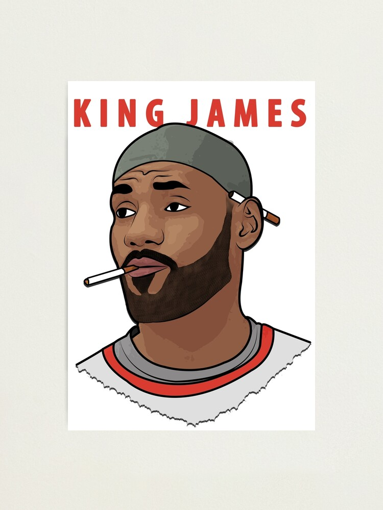 Alternate view of King James Photographic Print