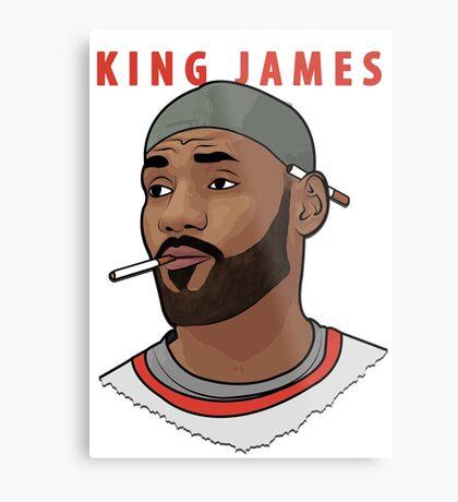 King James Metal Print