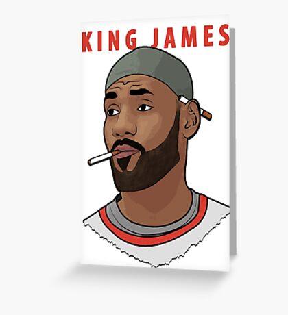 King James Greeting Card