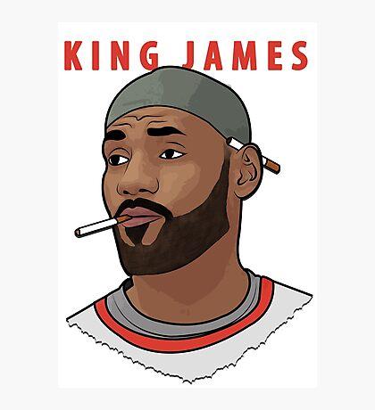 King James Photographic Print