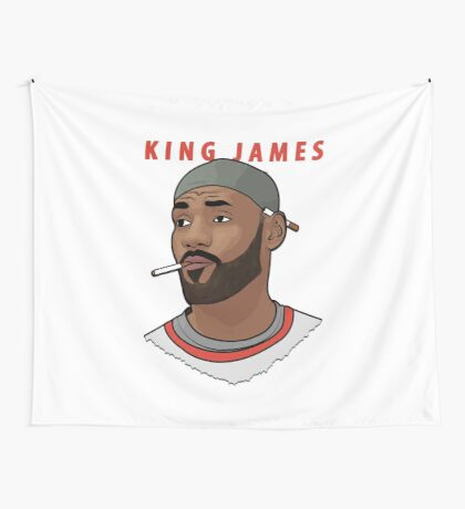 King James Wall Tapestry