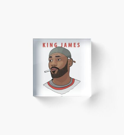 King James Acrylic Block