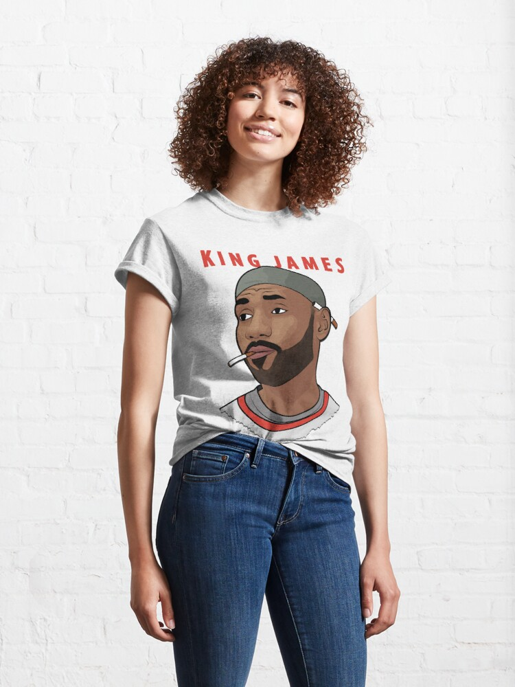 Alternate view of King James Classic T-Shirt