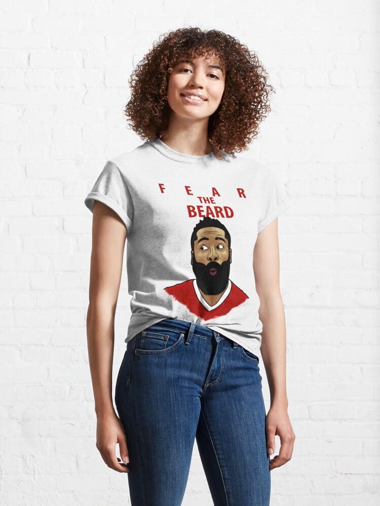 Alternate view of Fear the Beard Classic T-Shirt