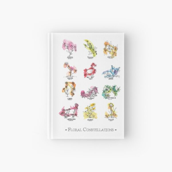 Floral Constellations - Chromatic Hardcover Journal