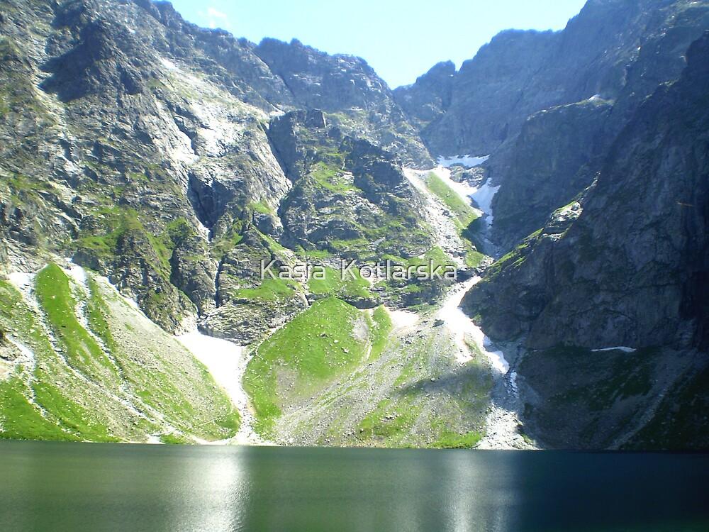 Lake Czarny Staw by Kasia  Kotlarska