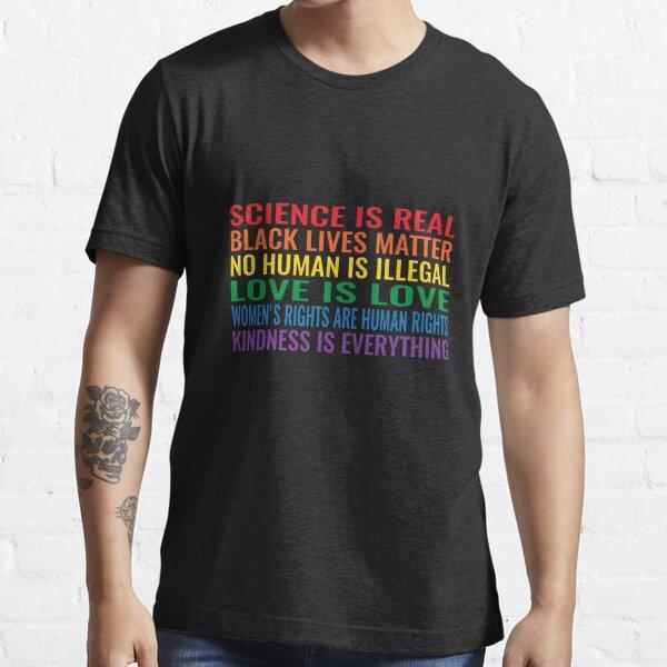 los derechos de las mujeres son derechos humanos Camiseta esencial