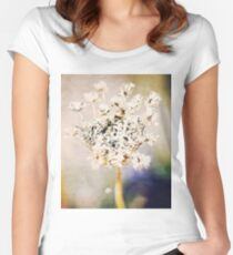 Autumn flower Women's Fitted Scoop T-Shirt
