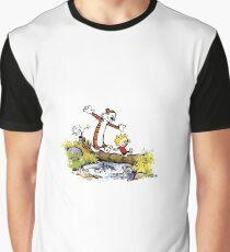 Calvin and Hobbes 8 Graphic T-Shirt