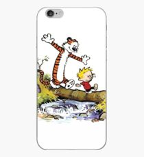Calvin and Hobbes 8 iPhone Case