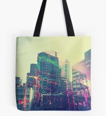Urban Graffiti Tote Bag