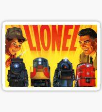 Lionel Vintage Model Trains USA Sticker