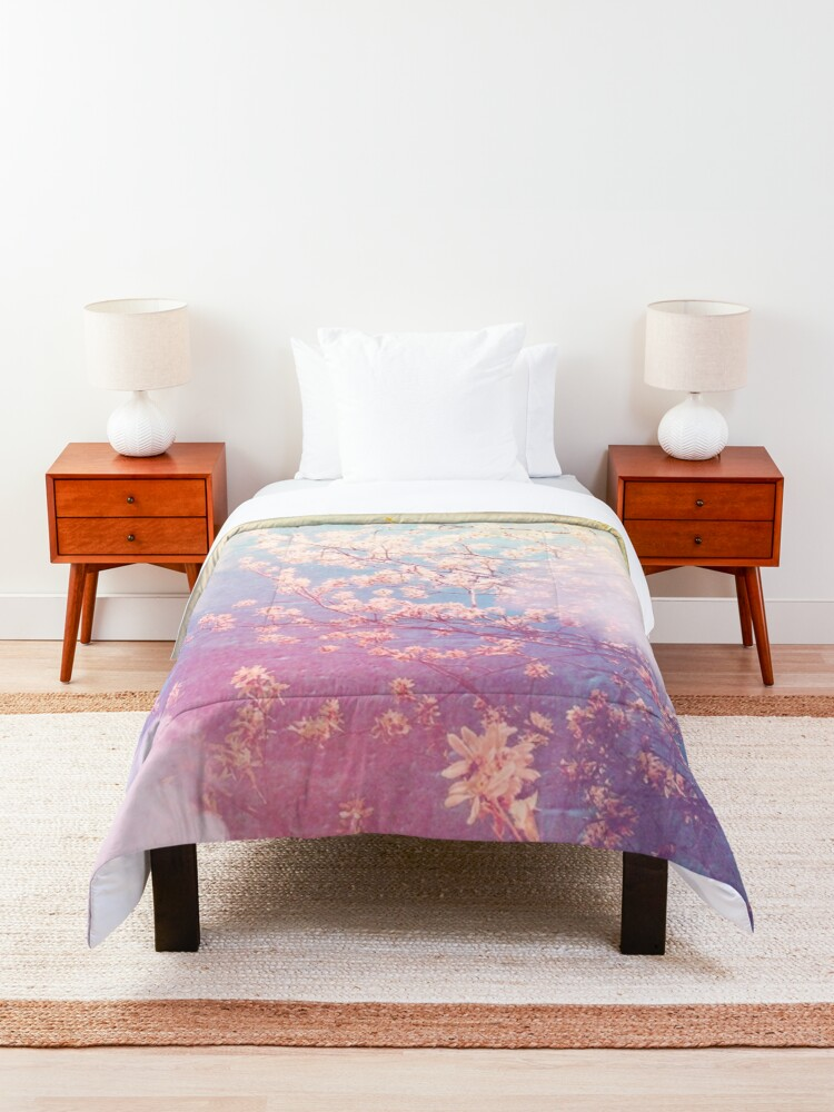 Alternate view of springtime dreaming Comforter
