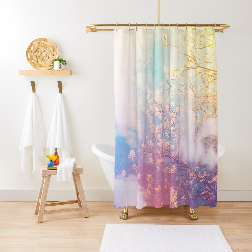 springtime dreaming Shower Curtain