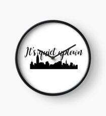 Es ist ruhig Uptown - Hamilton Uhr
