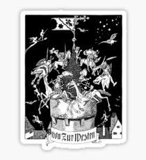 Fairytales, Knights, German Castles, Deutsche Kunst und Dekoration Sticker